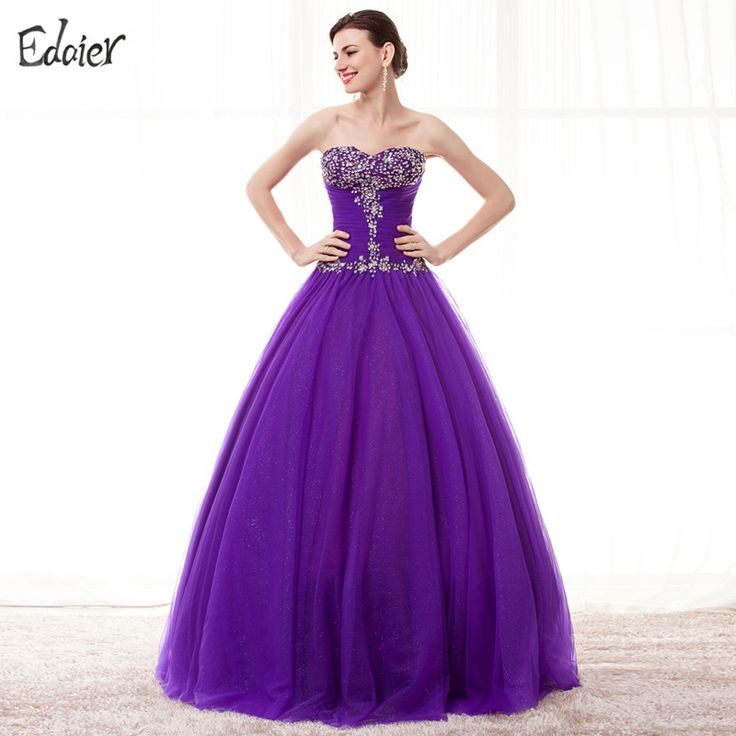 Find More Quinceanera Dresses Information about Pruple Red Quinceanera Dresses Ball Gown Sweetheart Beaded Floor Length Tulle Vestidos De 15 Anos Sweet 16 Dress Debutante Gowns,High Quality quinceanera dresses ball gowns,China debutante gown Suppliers, Cheap dresses debutante gowns from Shop1404230 Store on Aliexpress.com