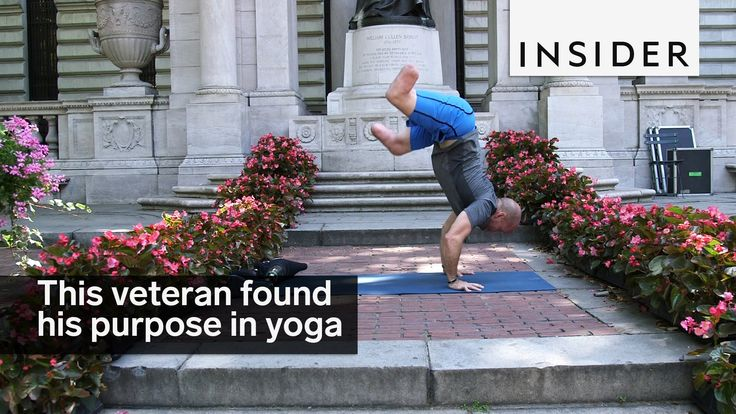 This veteran lost his legs in war and found a new purpose in yoga