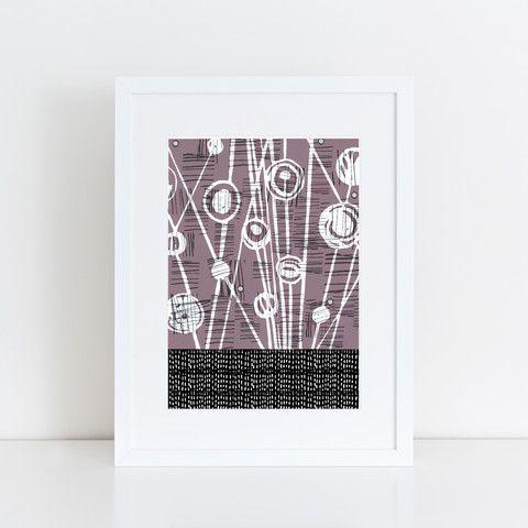 Twilight Meadow Print