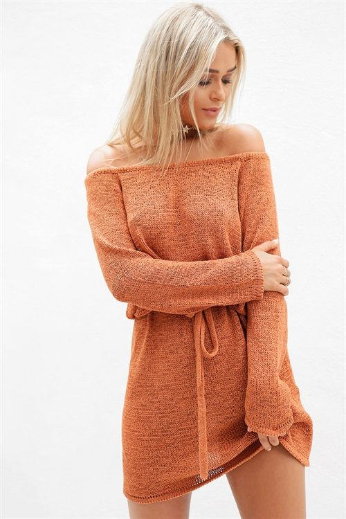Buy Brazen Knit Dress Online - Dresses - Women's Clothing & Fashion - SABO SKIRT