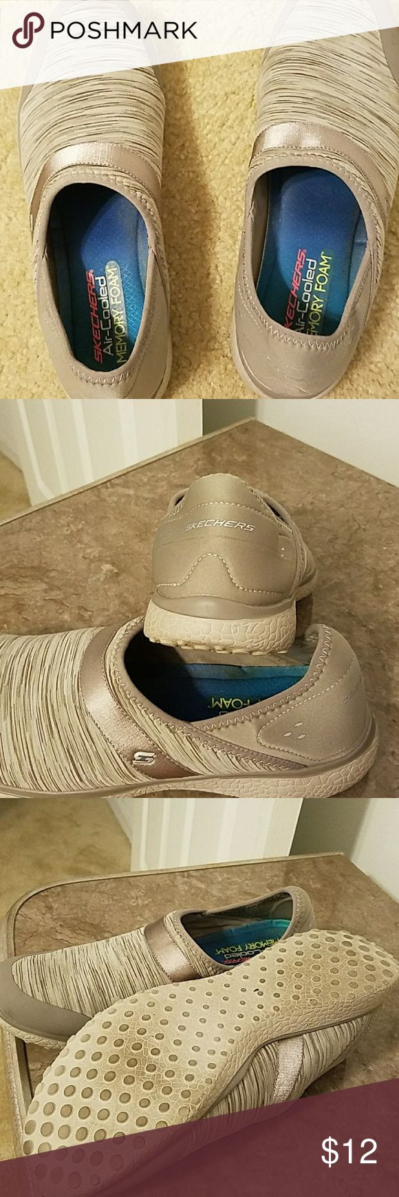 Women's Skechers Shoes Size 11 Air Cooled Memory Foam. Pull on. Gently worn. Skechers Shoes Sneakers