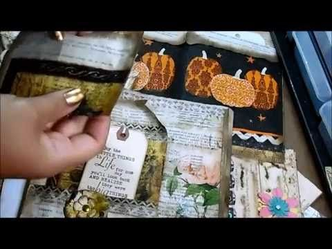 How to Alter Book Pages with Napkins Tutorial - YouTube