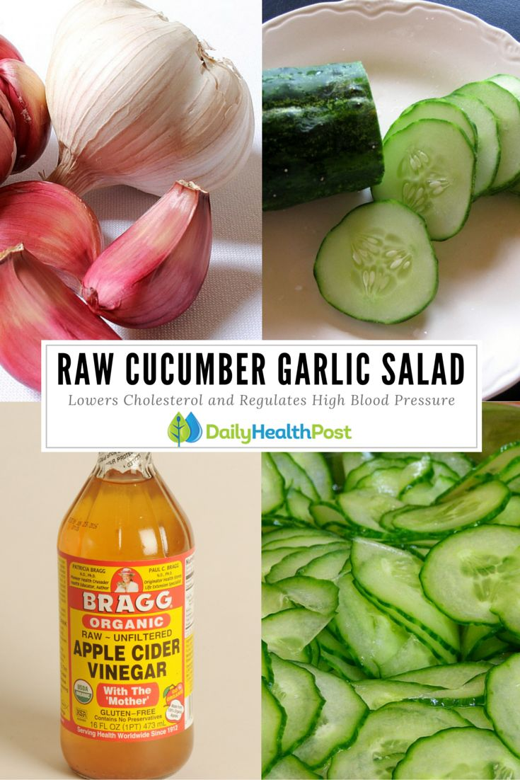 174 best cholesterol remedies images on pinterest 21 days healthy a healing cucumber and garlic salad lowers cholesterol and regulates high blood pressure forumfinder Gallery