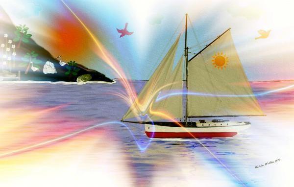 "SmudgeArt Digital Art Creation ""South Winds"""
