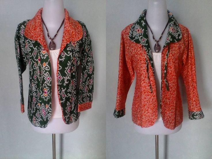 Bolero 2 sisi Orange bahan: katun ukuran/size: allsize price : Rp.100.000,- blm ongkir