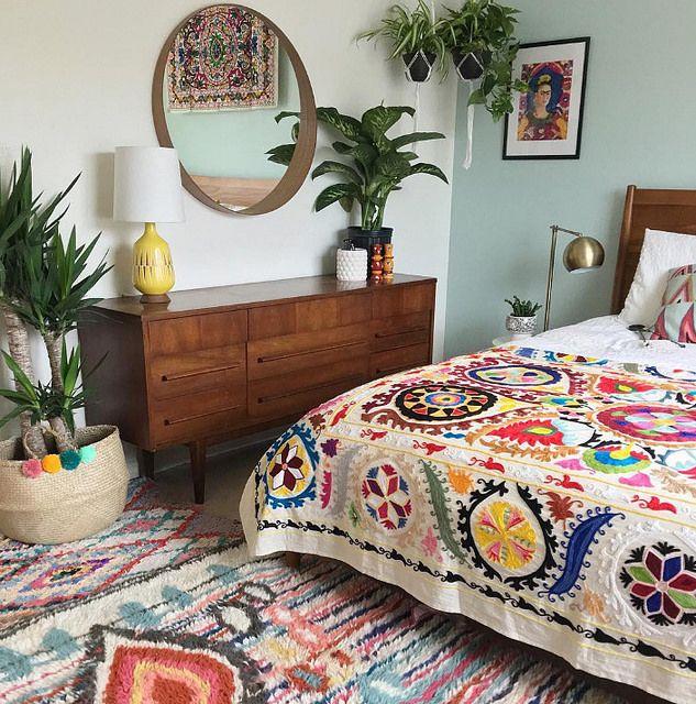 25+ Best Ideas About Bohemian Quilt On Pinterest