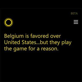 Microsoft's Cortana Wins Big on World Cup Predictions