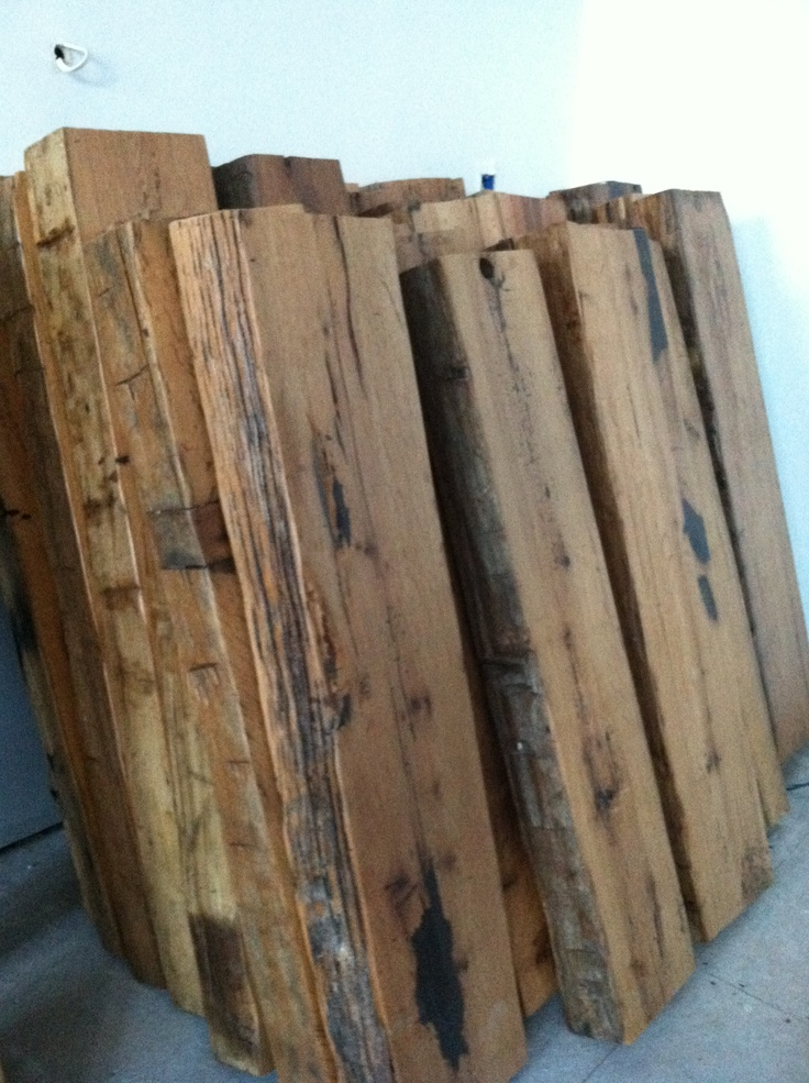 Best Reclaimed Hand Hewn White Oak Beams From 1860 Dairy Bar 400 x 300