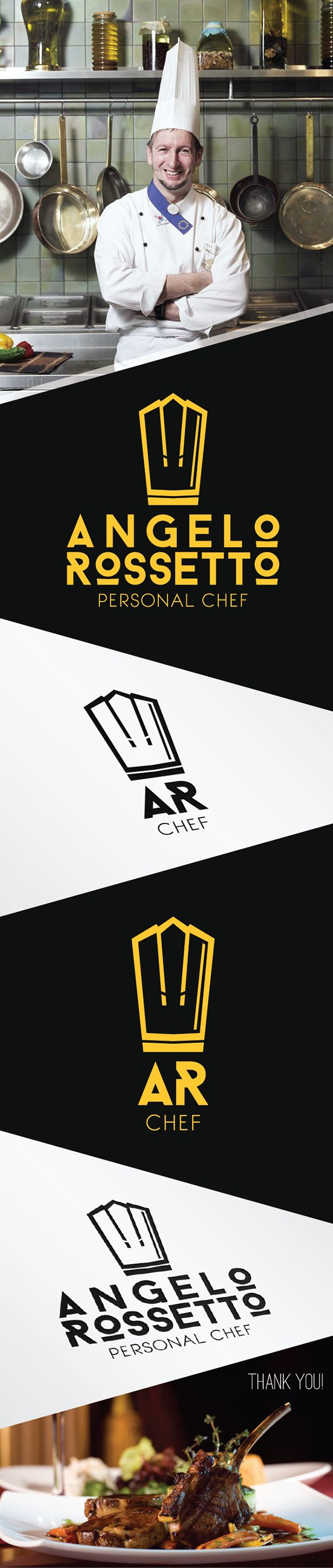 Chef Ângelo Rossetto -Identidade Visual on Behance