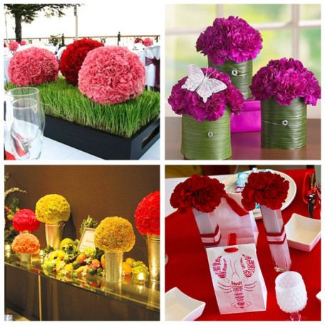 Carnations: http://www.partyfavoritesblog.com/storage/carnation_decor.jpg?__SQUARESPACE_CACHEVERSION=1253112454554