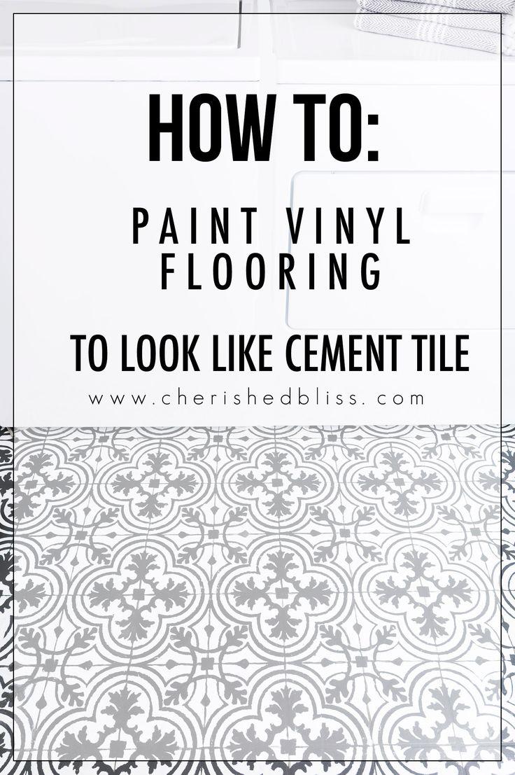 Best 25 painted vinyl floors ideas on pinterest cheap vinyl how to paint vinyl floors doublecrazyfo Choice Image