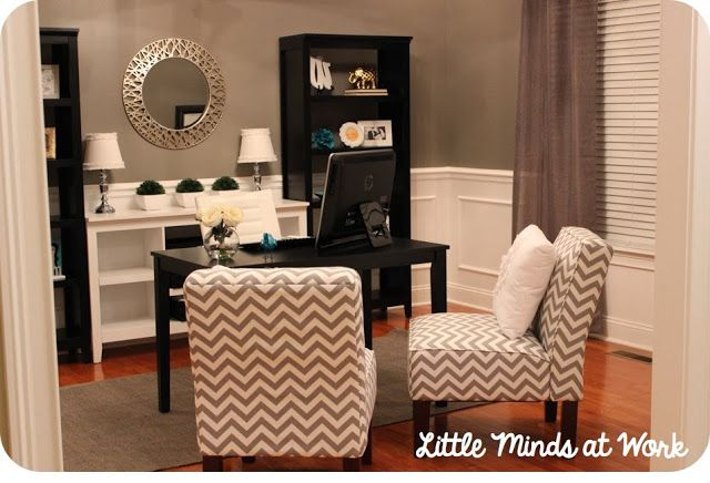 Little Minds at Work: Office Make Over! I am OBSESSED!!!
