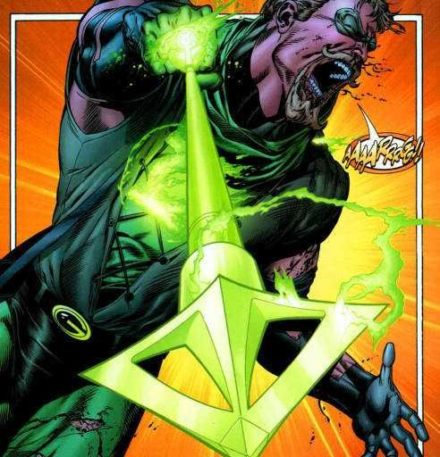 Oliver Queen (Green Arrow) Uses the Green Lantern Ring - Imgur