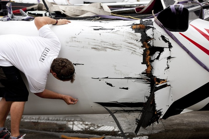 Extreme Sailing Series 2011-Day 3 - Istanbul, Turkey