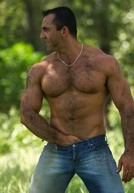 Brute Butch | Hot Daddys | Pinterest | Hairy men, Muscle