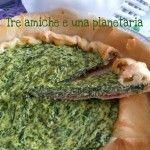 Torta salata con speck, ricotta e spinaci