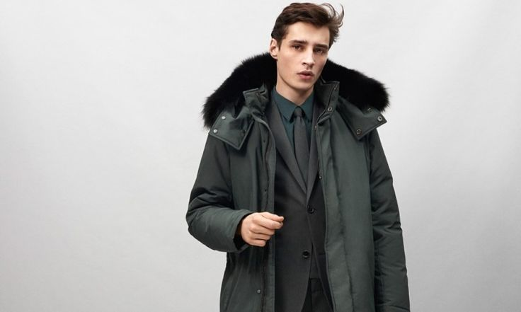 Adrien Sahores Models Theory's Fall/Winter 2015 Collection of Men's Essentials