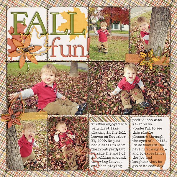 Simple Scrapbook Storytelling by SuzyQ Scraps » 12 Autumn Scrapbook Page Ideas: