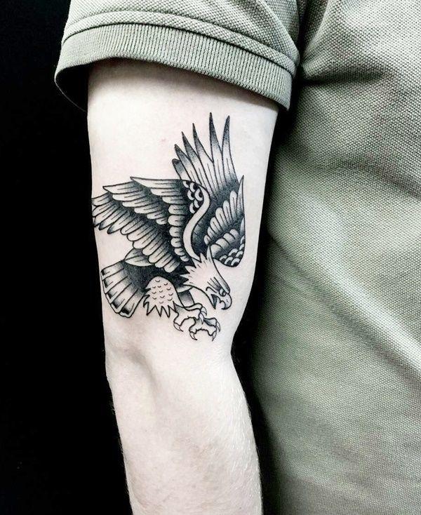 Eagle tattoo design | Etsy