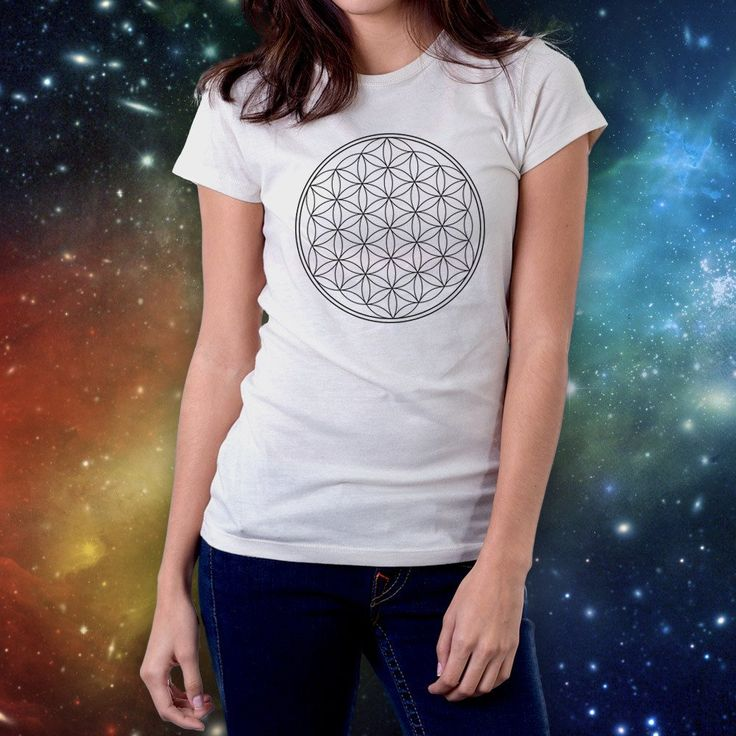 Flower of Life Short Sleeve Tee