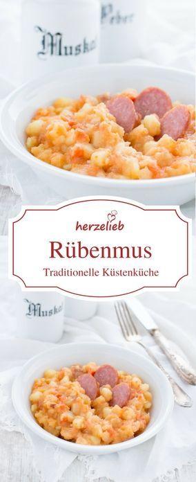 Rübenmus Rezept - nicht Holsteiner Art, nicht nach Tim Mälzer, sondern aus Nordfriesland von herzelieb #foodblog #foodblogger #blogger