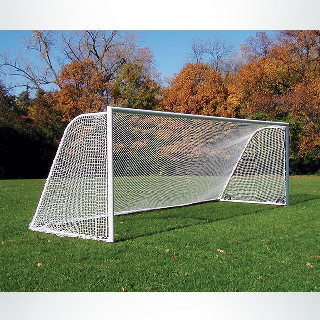 8 X24 3mm Htpp Soccer Nets White Keeper Goals Your Athletic Facility Equipment Experts In 2020 Soccer Soccer Goal Net