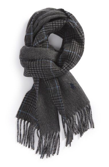 Polo Ralph Lauren Double Face Scarf available at #Nordstrom