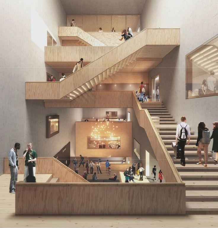EM2N Architekten neubau hochschule . luzern
