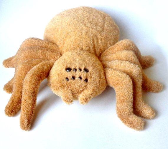 large stuffed spider tarantula big stuffed animal от ZooToys