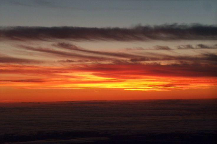 Backyard Sunset Above the High North