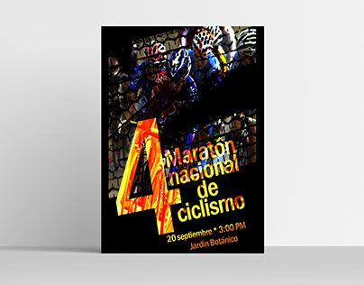 """Check out new work on my @Behance portfolio: """"Poster Maraton de Ciclismo"""" http://be.net/gallery/54602997/Poster-Maraton-de-Ciclismo"""