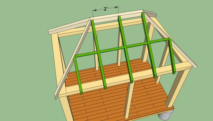 Rectangular Gazebo Plans Howtospecialist How To Build