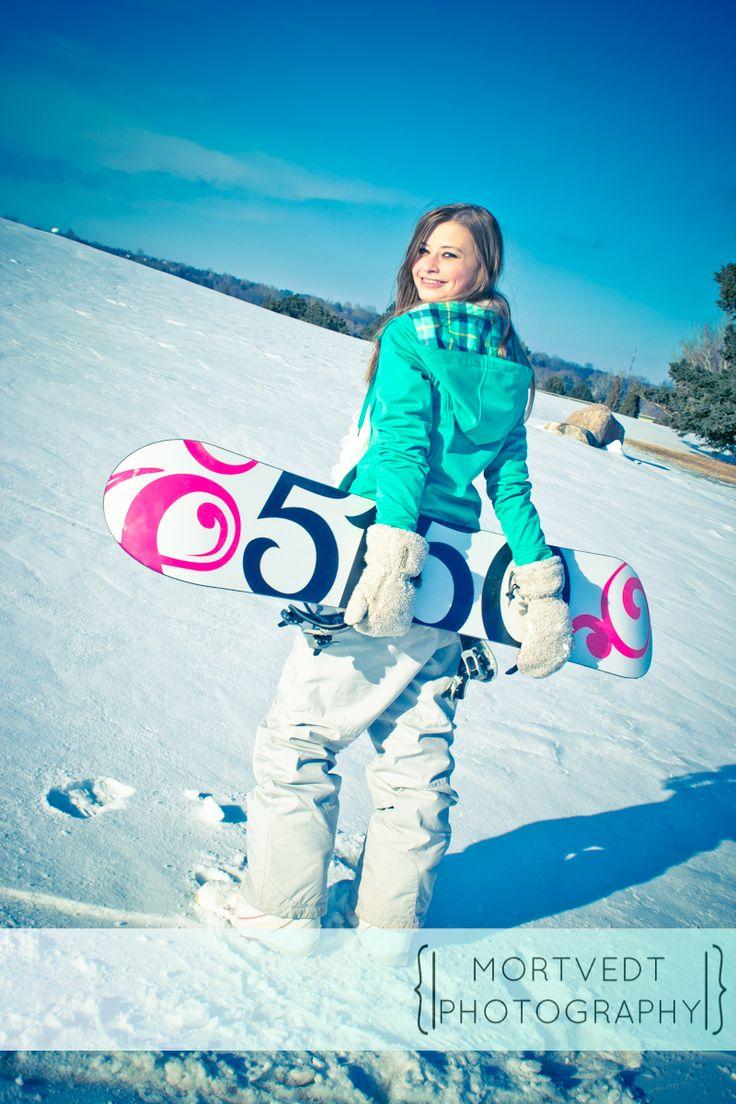 Senior Class of 2013 | Mortvedt Photography Tags: Senior, Girl, Snowboard, Winter