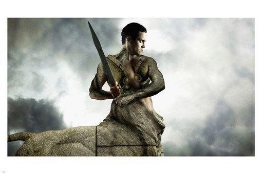Centaur With Sword Fantasy Poster 24X36 Half Man Half Horse MYTHOLOGICAL