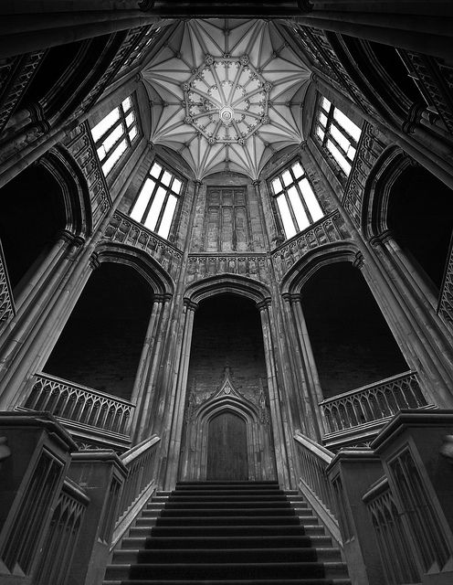 The Staircase... Margam Castle, Wales