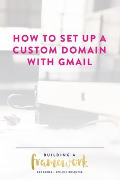 Learn how to create a professional custom email address while still keeping all of the benefits of using Gmail and the Google Apps suite of tools!