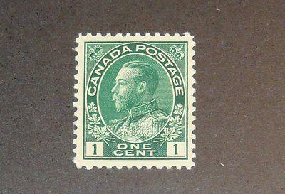 Stamp Pickers Canada 1911-25 KGV Admiral 1c Scott #104 MNH VF $80+