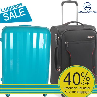 As seen on Big Brother and The Block! Save 40% off American Tourister and Antler Luggage, instore at Zelows now. And, yes - at Zelows, we take customer orders.