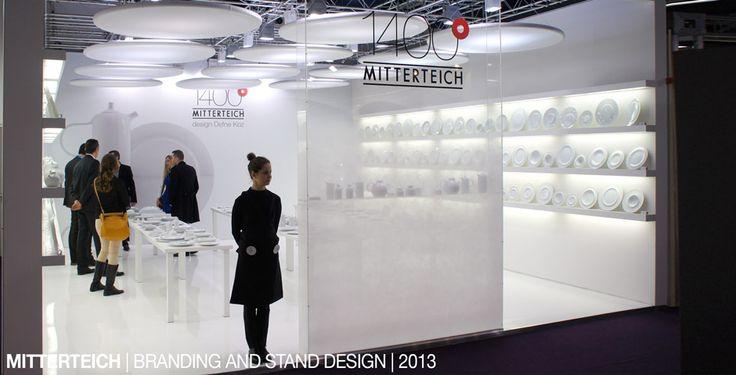 mitterteich  branding and stand design