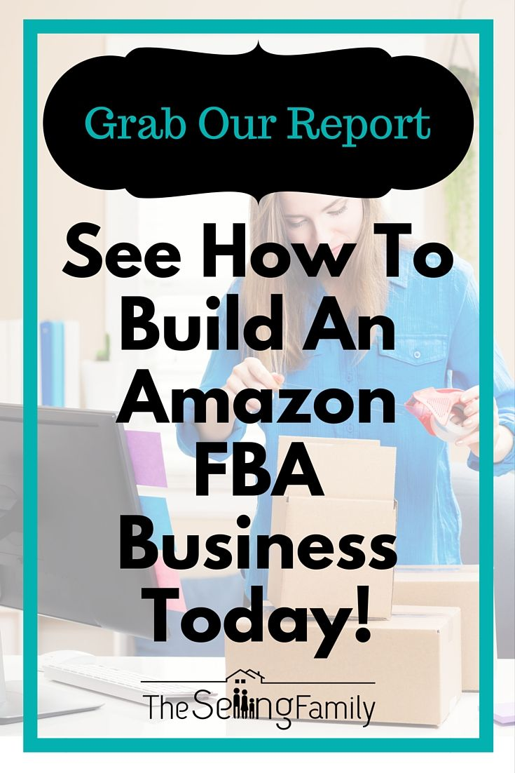 "Have you heard about selling on Amazon using the FBA program?    Our family has been making six-figures on Amazon for over 5 years.   Grab our Free Report ""Why Selling On Amazon FBA Works"" and learn how to build an Amazon FBA business today!"