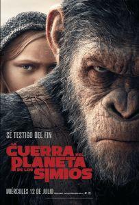 La Guerra del Planeta de los Simios(War for the Planet of the Apes,2017) Vista el24-nov-17