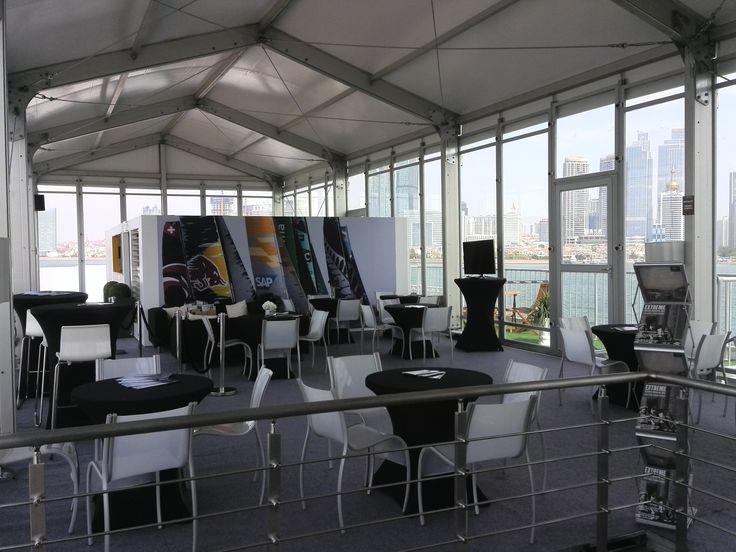 Olympic Sailing|Double Decker|Event Tent|Reception Tent|Reception Desk&Chair