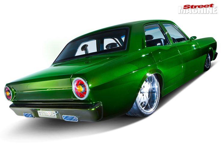 Ford Powerstroke Turbo Diesel Powered 1967 Xr Falcon Zero D