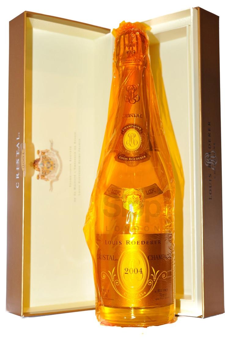 6 Bottles of 2004 Cristal, Louis Roederer, £894.00
