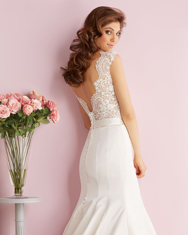 Allure Bridals Romance Collection  Read more - http://www.stylemepretty.com/2014/02/13/282118/