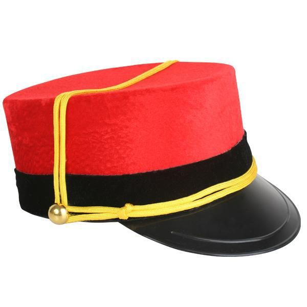 Let's Party With Balloons - Train Conductor/Nut Cracker Hat, $26.00 (http://www.letspartywithballoons.com.au/train-conductor-nut-cracker-hat/)