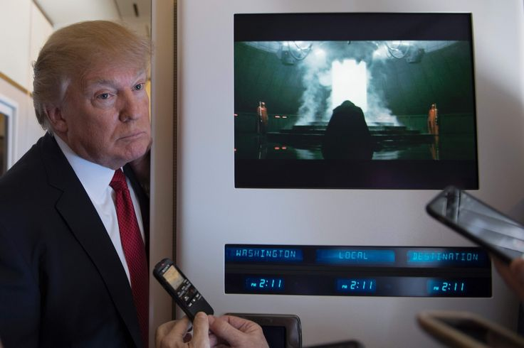 Donald Trump interrupted a screening of 'Rogue One.' Mark Hamill had a forceful response.