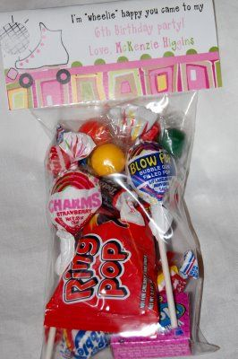 boys roller skate party supplies | Rollerskating thank you notes and party favor bags!