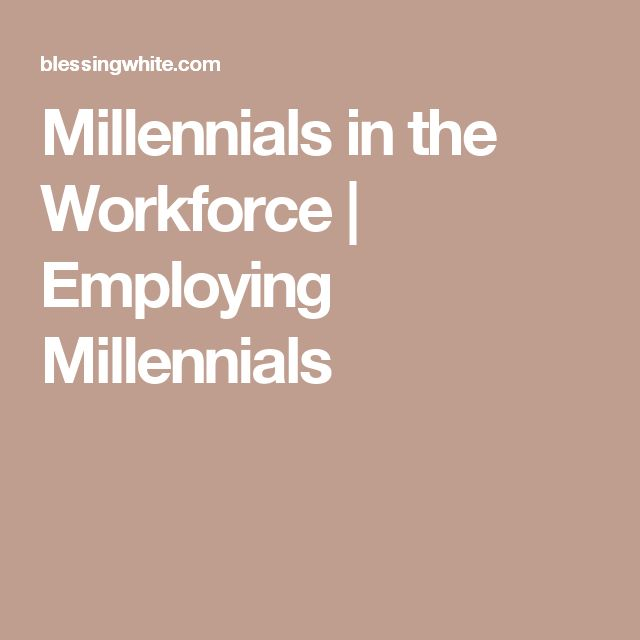 89 best managing people images on pinterest managing people millennials in the workforce employing millennials fandeluxe Choice Image