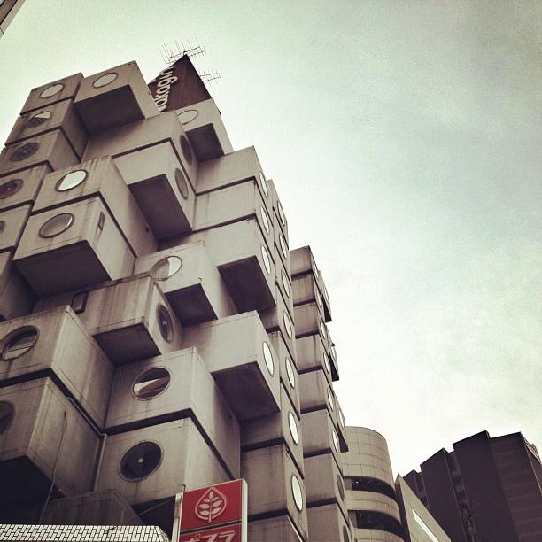 Nakagin Capsule Tower by Kisho Kurokawa